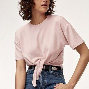 WILFRED FREE Pink Lindsay T-shirt